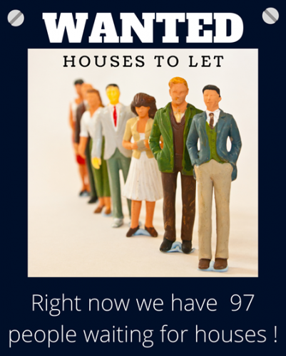 pc lettings more houses needed